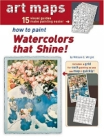 How To Paint Watercolors That Shine! (15 Art Maps) артикул 10804d.
