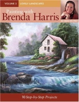 Painting With Brenda Harris: Lovely Landscapes (Painting With Brenda Harris) артикул 10955d.
